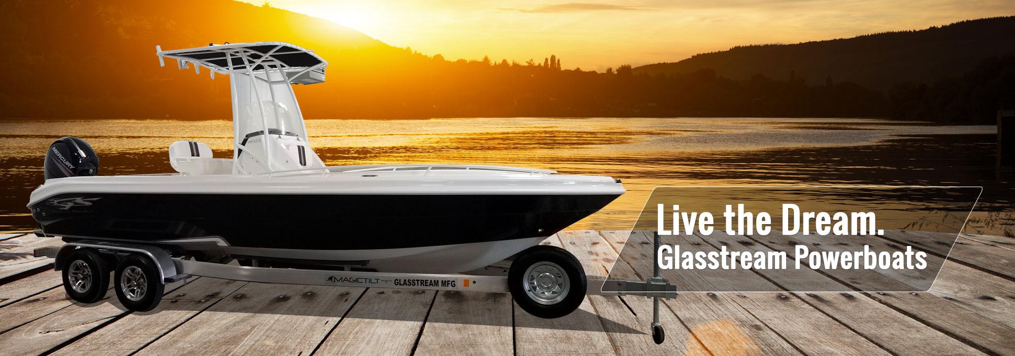 Glassstream CCX Boat
